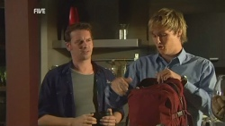 Lucas Fitzgerald, Andrew Robinson in Neighbours Episode 5950
