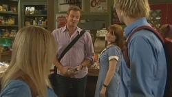 Natasha Williams, Michael Williams, Summer Hoyland, Andrew Robinson in Neighbours Episode 5950