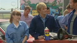 Summer Hoyland, Michael Williams, Andrew Robinson, Lucas Fitzgerald in Neighbours Episode 5950