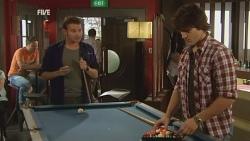 Lucas Fitzgerald, Declan Napier in Neighbours Episode 5950