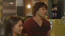 Nurse Jodie Smith, Declan Napier in Neighbours Episode 5951
