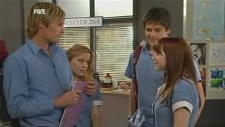 Andrew Robinson, Natasha Williams, Chris Pappas, Summer Hoyland in Neighbours Episode 5953