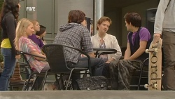 Donna Freedman, Declan Napier, Susan Kennedy, Zeke Kinski in Neighbours Episode 5954