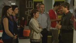 Libby Kennedy, Karl Kennedy, Susan Kennedy, Karl Kennedy, John Bradley in Neighbours Episode 5955