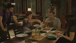 Zeke Kinski, Susan Kennedy, Karl Kennedy, Libby Kennedy in Neighbours Episode 5955