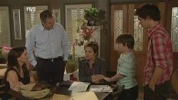 Libby Kennedy, Karl Kennedy, Susan Kennedy, Ben Kirk, Zeke Kinski in Neighbours Episode 5955