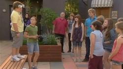 Callum Jones, Sophie Ramsay, Summer Hoyland, Andrew Robinson in Neighbours Episode 5955
