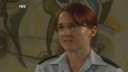 Constable Simone Page in Neighbours Episode 5956