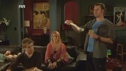 Ringo Brown, Donna Freedman, Lucas Fitzgerald in Neighbours Episode 5956