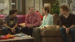Zeke Kinski, Karl Kennedy, Susan Kennedy, Ringo Brown in Neighbours Episode 5956