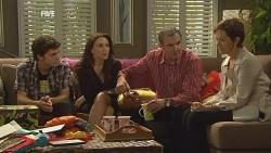 Zeke Kinski, Libby Kennedy, Karl Kennedy, Susan Kennedy in Neighbours Episode 5957