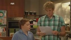 Callum Jones, Andrew Robinson in Neighbours Episode 5957