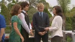 Rebecca Napier, Declan Napier, Andrew Robinson, Diana Marshall in Neighbours Episode 5959