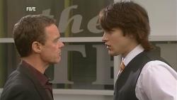 Paul Robinson, Declan Napier in Neighbours Episode 5959