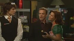 Declan Napier, Paul Robinson, Rebecca Napier in Neighbours Episode 5959