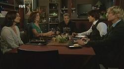 Diana Marshall, Rebecca Napier, Paul Robinson, Declan Napier, Andrew Robinson in Neighbours Episode 5959