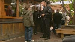 Callum Jones, Security Guard in Neighbours Episode 5960