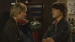 Andrew Robinson, Declan Napier in Neighbours Episode 5960