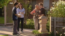 Zeke Kinski, Kate Ramsay, Donna Freedman, Ringo Brown in Neighbours Episode 5964