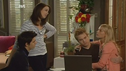 Zeke Kinski, Kate Ramsay, Ringo Brown, Donna Freedman in Neighbours Episode 5964