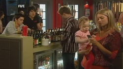 Zeke Kinski, Declan Napier, Ringo Brown, India Napier, Donna Freedman in Neighbours Episode 5969