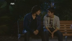 Declan Napier, Zeke Kinski in Neighbours Episode 5969