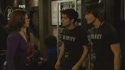 Rebecca Napier, Zeke Kinski, Declan Napier in Neighbours Episode 5969
