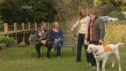Toadie Rebecchi, Steph Scully, Sonya Mitchell, Callum Jones, Rocky in Neighbours Episode 5972