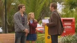 Kyle Canning, Natasha Williams, Michael Williams in Neighbours Episode 5974