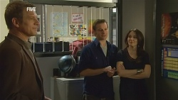 Michael Williams, Lucas Fitzgerald, Libby Kennedy in Neighbours Episode 5975