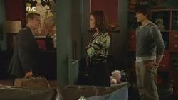 Paul Robinson, Rebecca Napier, Declan Napier in Neighbours Episode 5977