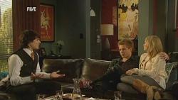 Declan Napier, Ringo Brown, Donna Freedman in Neighbours Episode 5978