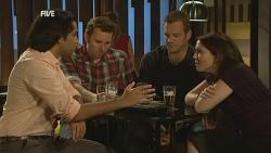 Doug Harris, Lucas Fitzgerald, Michael Williams, Libby Kennedy in Neighbours Episode 5978