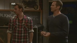 Lucas Fitzgerald, Michael Williams in Neighbours Episode 5979