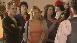 Ringo Brown, Declan Napier, Donna Freedman, Kate Ramsay, Marlon Diamond in Neighbours Episode 5982