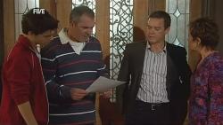 Zeke Kinski, Karl Kennedy, Paul Robinson, Susan Kennedy in Neighbours Episode 5983