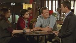 Libby Kennedy, Zeke Kinski, Michael Williams, Paul Robinson in Neighbours Episode 5983