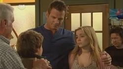 Lou Carpenter, Callum Jones, Michael Williams, Natasha Williams in Neighbours Episode 5985