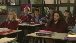 "Natasha Williams, Andrew Robinson, Chris Pappas, Dale ""Macca"" McGregor, Summer Hoyland in Neighbours Episode 5986"