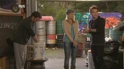 Lucas Fitzgerald, Donna Freedman, Ringo Brown in Neighbours Episode 5986