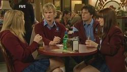 Natasha Williams, Andrew Robinson, Chris Pappas, Summer Hoyland in Neighbours Episode 5986