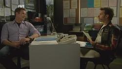 Michael Williams, Lucas Fitzgerald in Neighbours Episode 5986