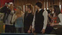 Lucas Fitzgerald, Donna Freedman, Ringo Brown, Declan Napier, Kate Ramsay in Neighbours Episode 5986