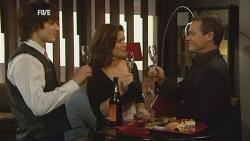 Declan Napier, Rebecca Napier, Paul Robinson in Neighbours Episode 5990