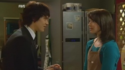 Declan Napier, Kate Ramsay in Neighbours Episode 5991