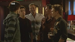 Declan Napier, Zeke Kinski, Michael Williams, Lucas Fitzgerald, Ringo Brown in Neighbours Episode 5992