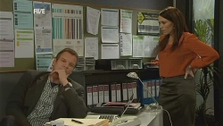Michael Williams, Libby Kennedy in Neighbours Episode 5993