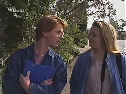 Brett Stark, Libby Kennedy in Neighbours Episode 2411