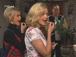 Joanna Hartman, Annalise Hartman, Tarquin Hartman in Neighbours Episode 2411