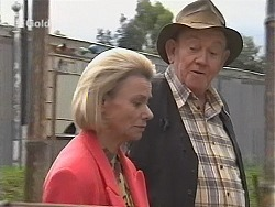 Helen Daniels, Old Sid in Neighbours Episode 2411